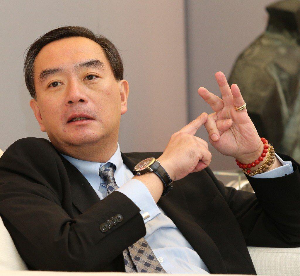 裕隆集團執行長嚴凱泰病逝。聯合報系資料照片