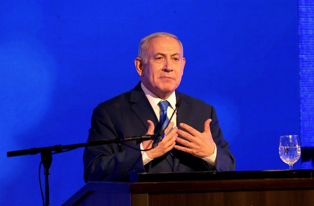 以色列總理內唐亞胡(Benjamin Netanyahu)。 路透