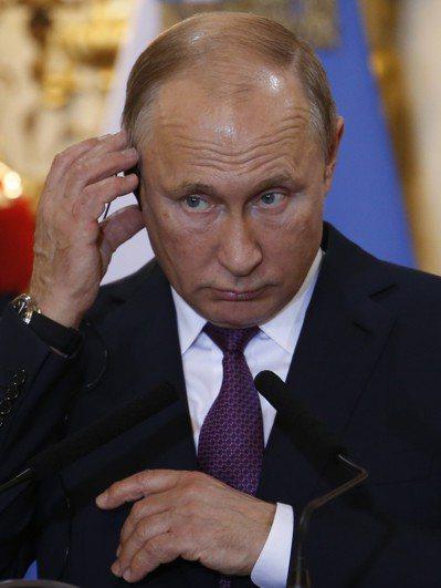 俄國總統普亭。 美聯社