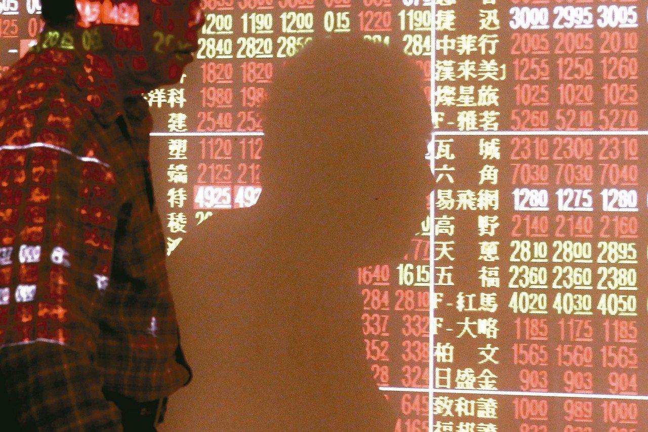 美中貿易戰出現和緩跡象,加上美股上周五收高,台股今天攻上萬點關卡。 記者林伯東/...