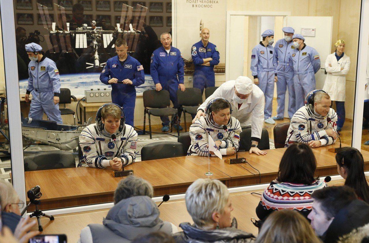 俄羅斯聯合號火箭今天首次執行任務,載太空人升空前往國際太空站(ISS)。 歐新社