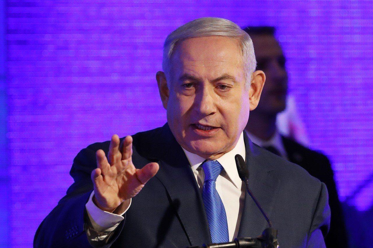 以色列總理尼坦雅胡(Benjamin Netanyahu)。 法新社