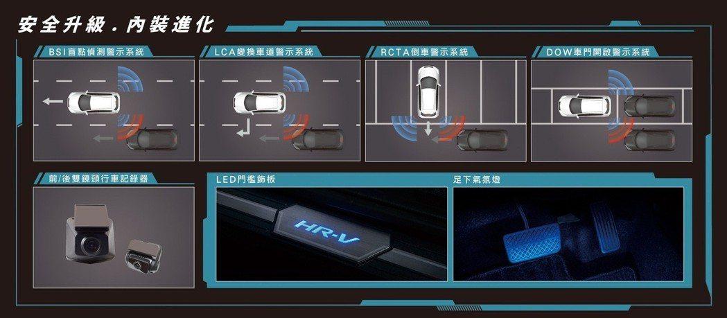 安全升級內裝進化。 圖/台灣本田提供
