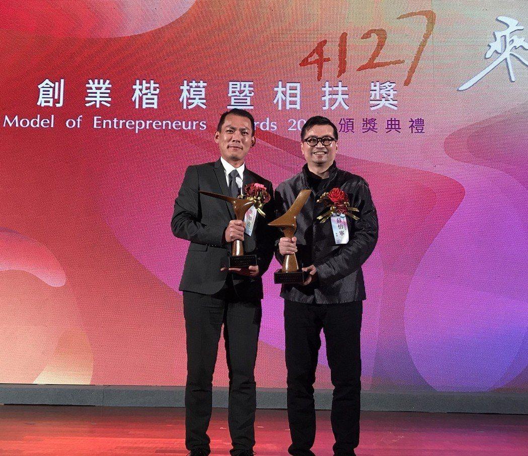 引領台灣基因產業在臨床應用的發展的慧智基因創辦人蘇怡寧,11月29日獲得中華民國...