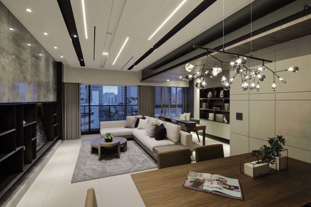 「新都廳2」A棟59.25坪,採光佳。 攝影/張世雅
