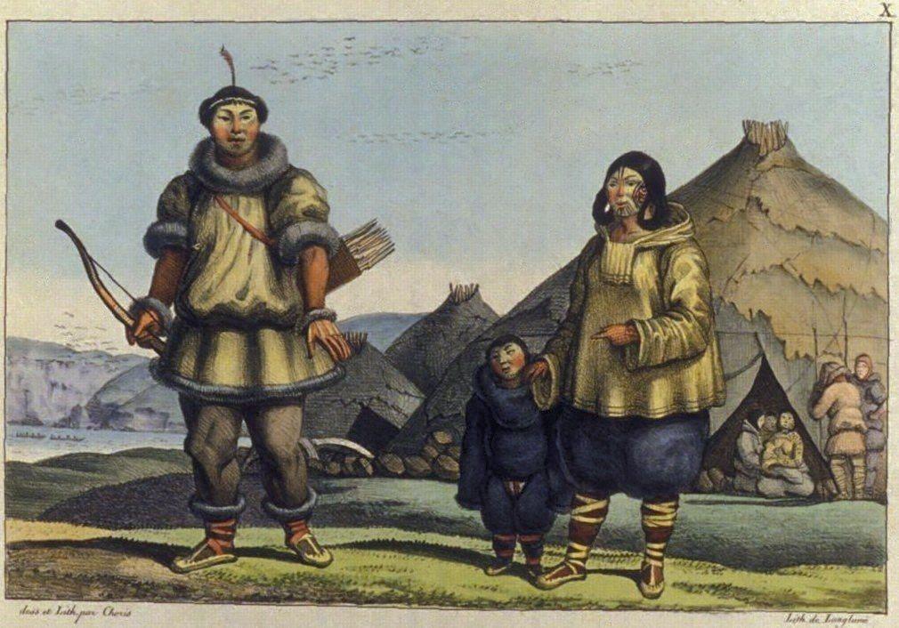從進擊東擴到遠東開發,俄羅斯的遠東拓荒遠沒這麼容易。圖為19世紀的畫作,描繪居住...