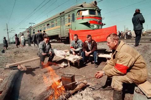 前進遠東!俄羅斯幾個世紀以來,一直試圖發展遠東。圖為西伯利亞大鐵路的遠東路段。 ...