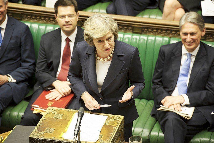 英國國會將於11日表決脫歐協議,投票結果將直接影響梅伊接下來的執政地位。 台灣醒...