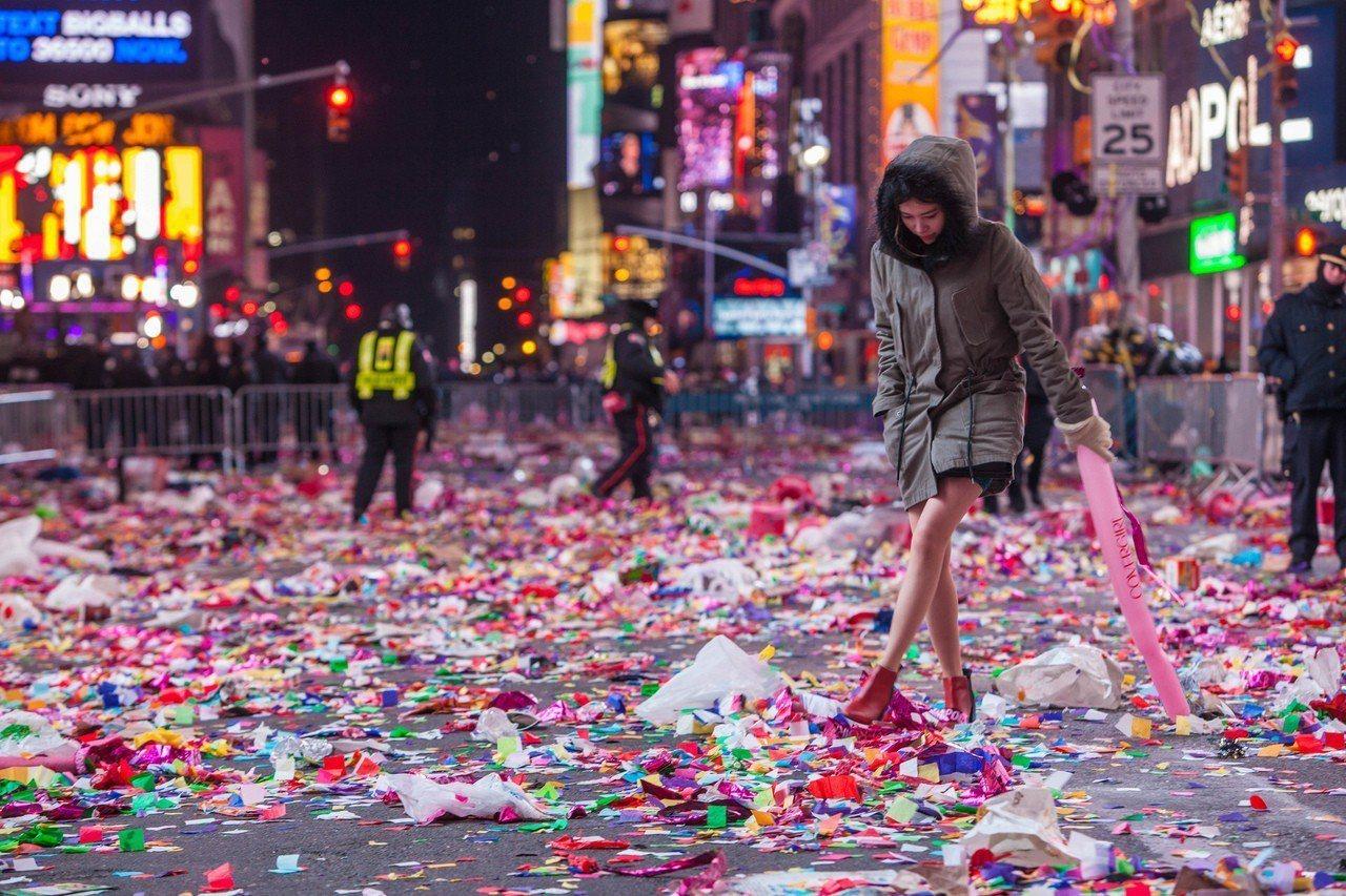美國 – 紐約時代廣場。 圖/Anthony Quintano via Flic...