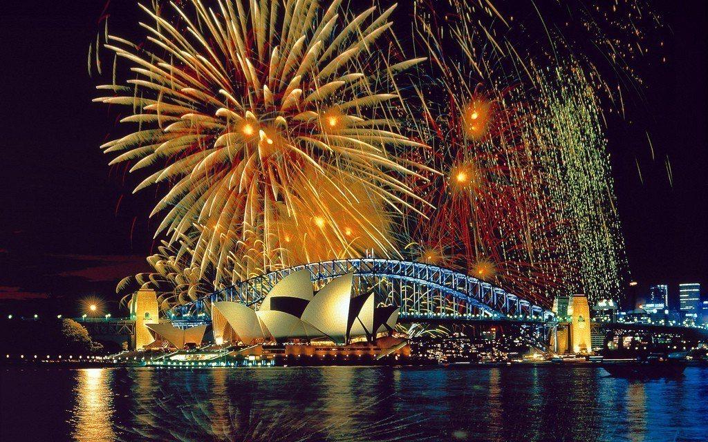 澳洲 – 雪梨跨年煙火。 圖/miquitos via Flickr