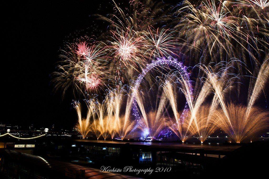 英國 – 倫敦眼。 圖/小不列颠 via Flickr