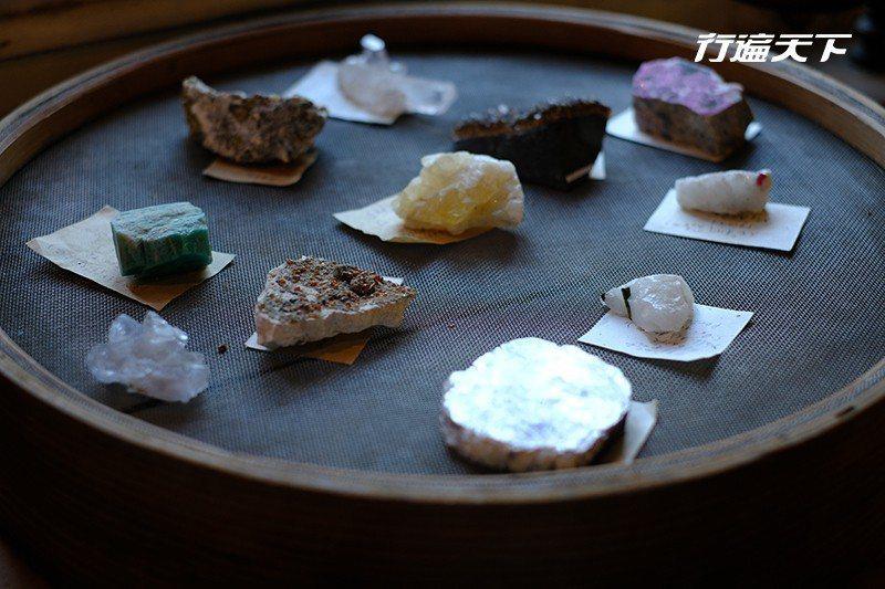 來自日本的天然礦石。  攝影|行遍天下