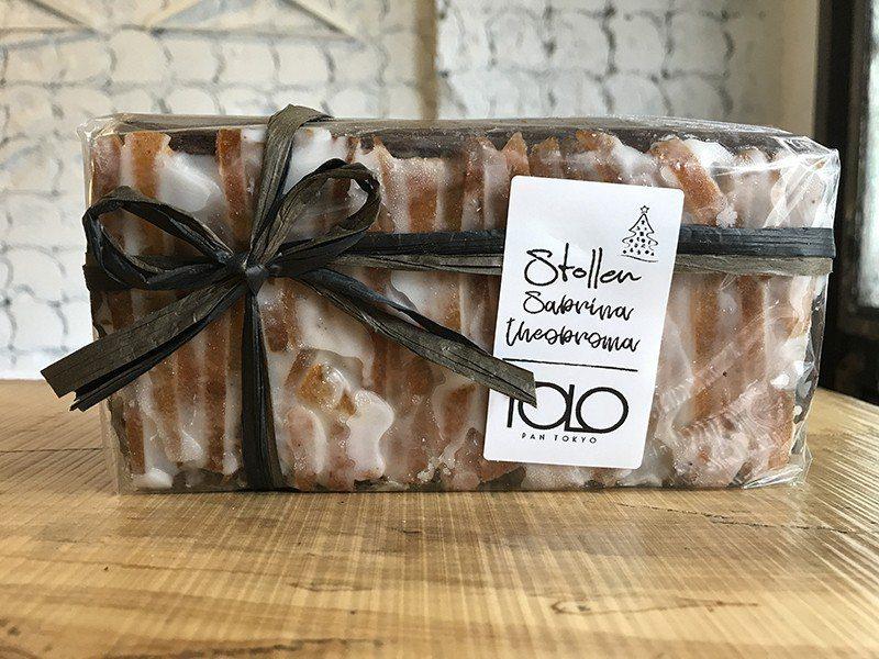 シュトレン(德式聖誕蛋糕.白.紅、黑)¥2800 起/德國傳統甜麵包,加入奶油起...