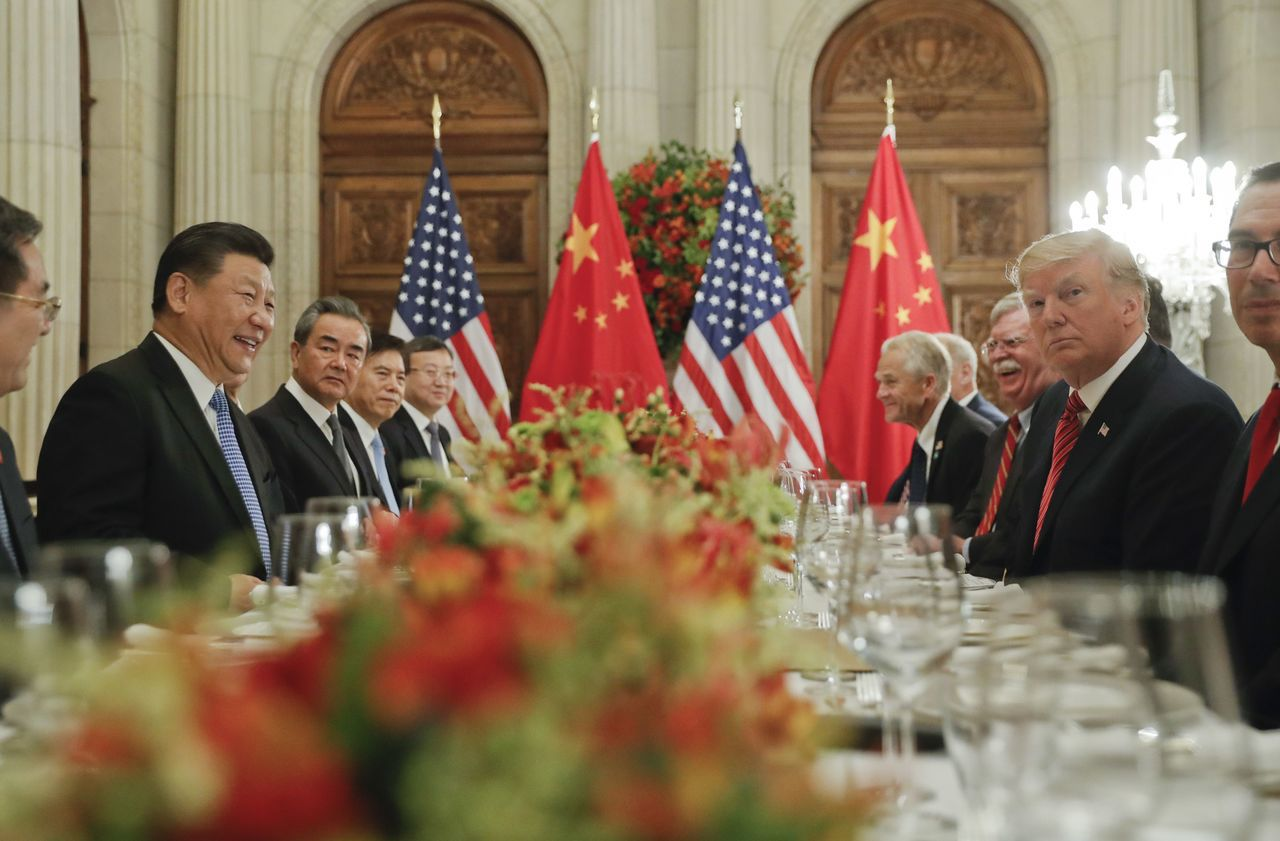 川習會達成停火協議,中國以90天時間換取貿易空間。美聯社