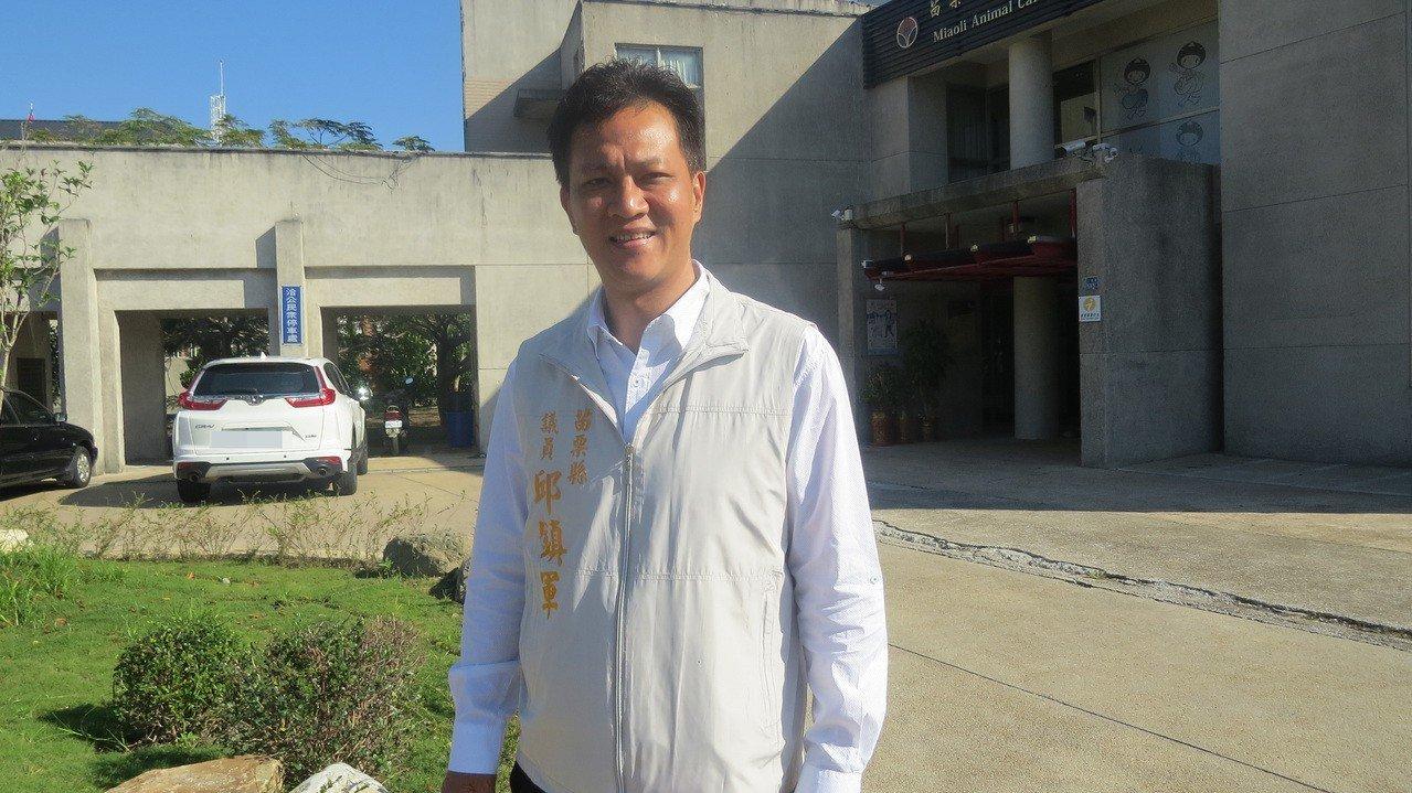 苗栗縣議員邱鎮軍是18鄉鎮市長選舉最高票、最年輕當選人,他強調上任第一件事就是盡...
