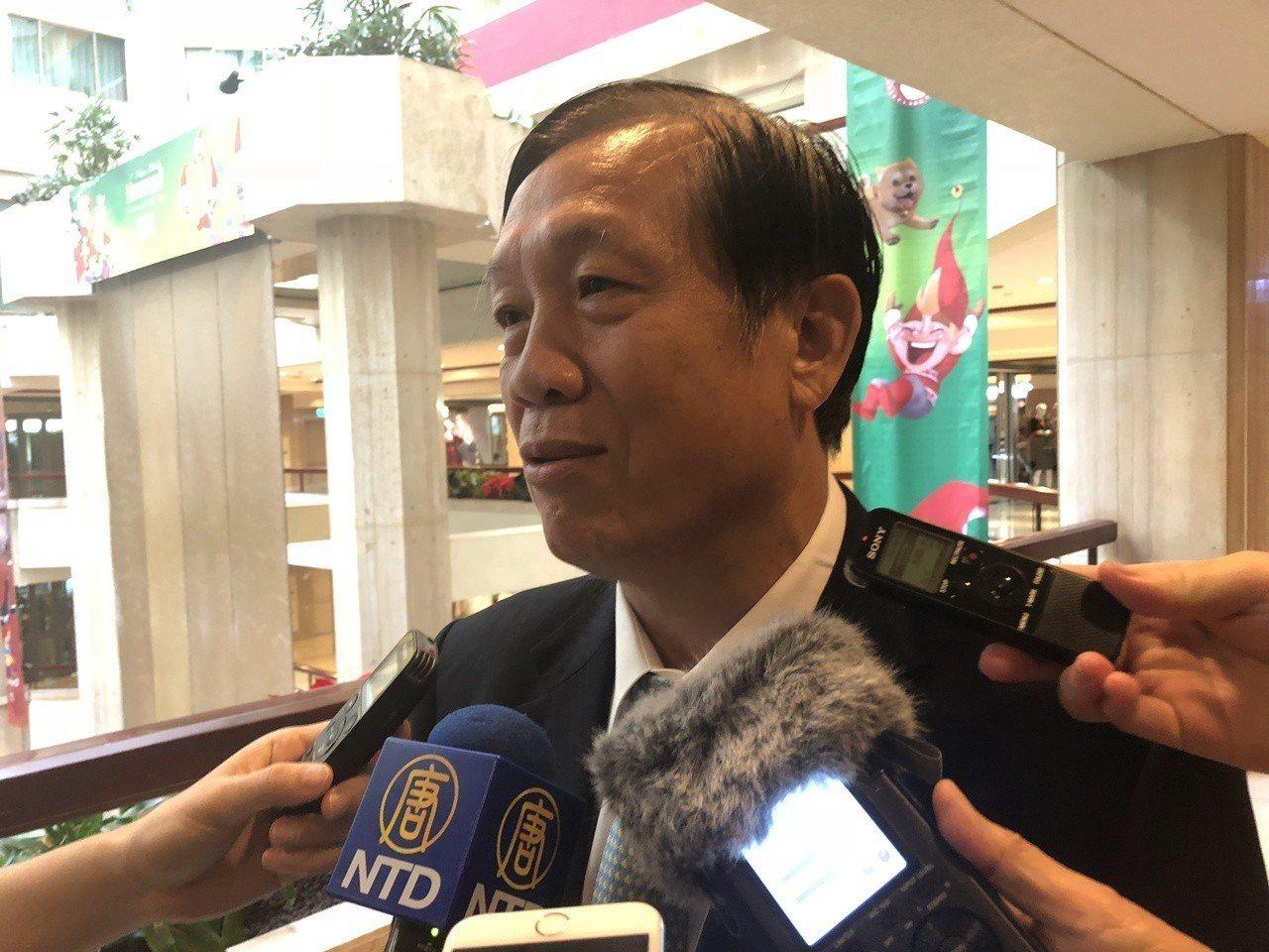 全國商總理事長賴正鎰表示有200家企業表達有意願到高雄投資。記者許依晨/攝影