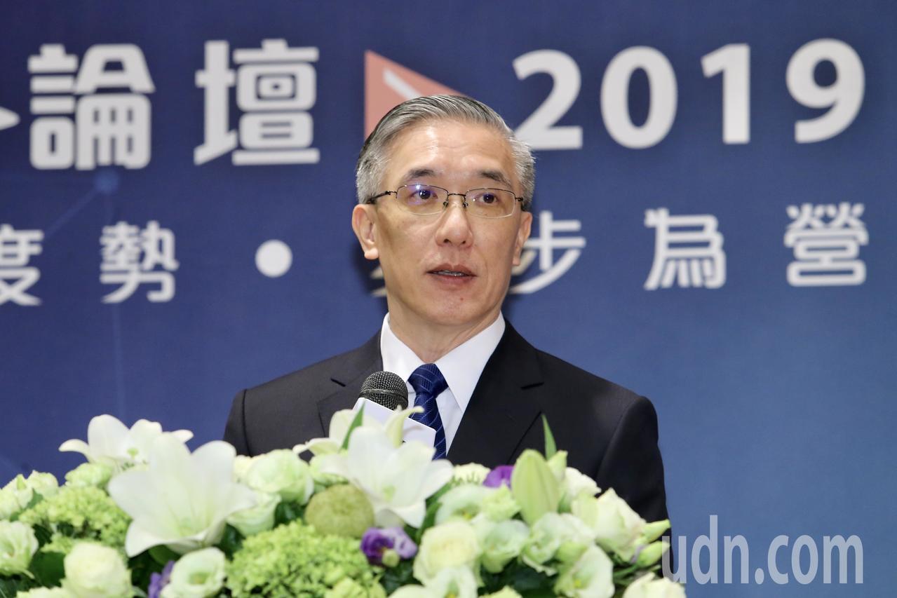 富邦金控首席經濟學家羅瑋針對2019經濟趨勢進行局勢變化解析。記者許正宏/攝影