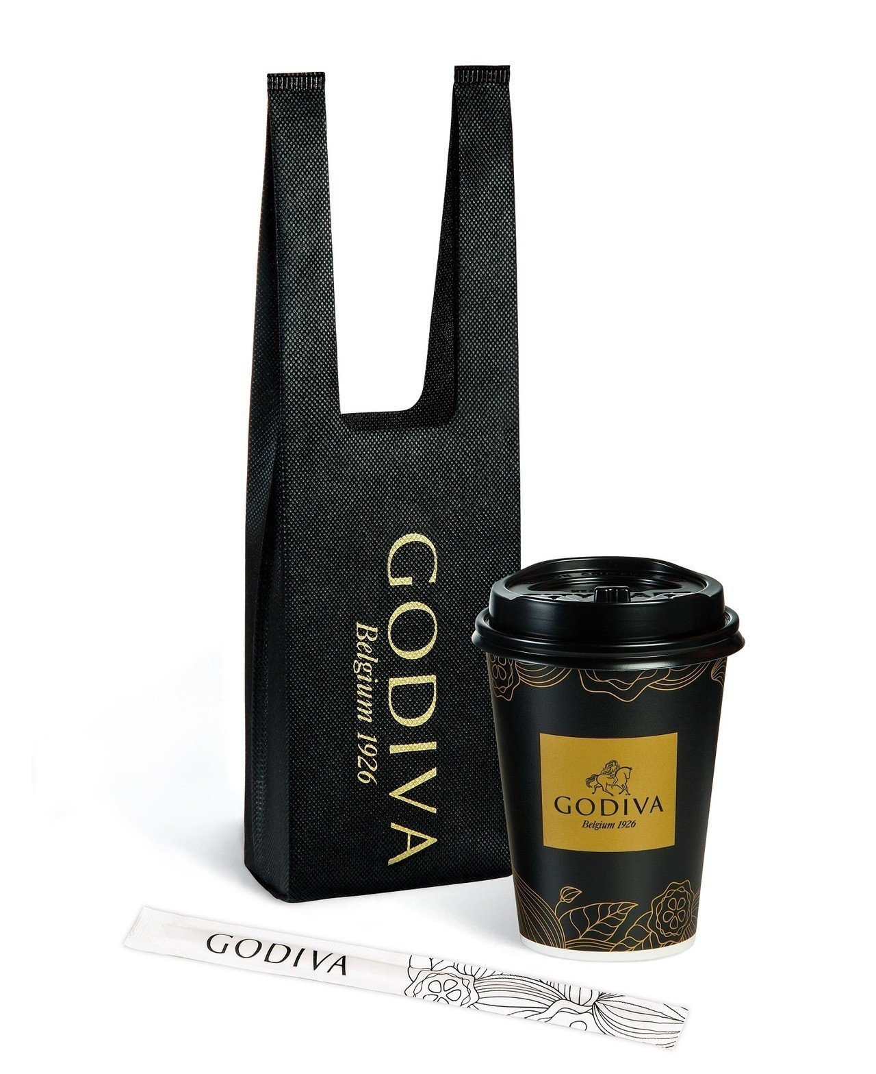 GODIVA醇黑熱巧克力,建議售價99元,全台限量65萬杯。圖/7-ELEVEN...