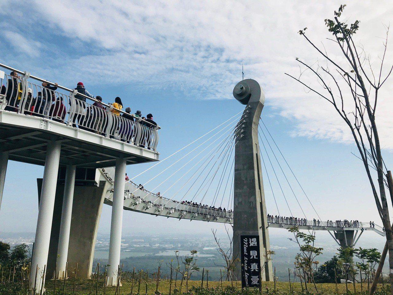 高雄市政府花了一億多元打造的 「崗山之眼」,開園不到1年,今天起卻要封園2個月。...