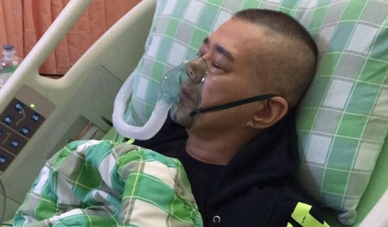 資深藝人安迪罹患食道癌第三期,與死神拔河後不幸於昨天病逝。 圖/阿娥提供