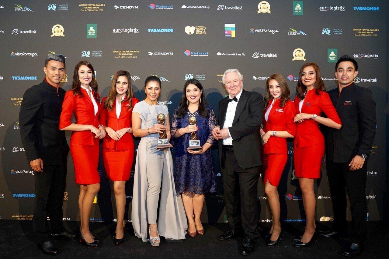 亞洲低成本航空公司AirAsia今(3)日宣布連續六年蟬聯2018 World ...