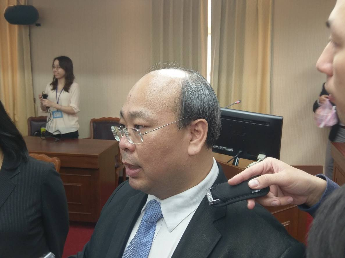 中選會代理主任委員陳朝建。記者徐偉真/攝影