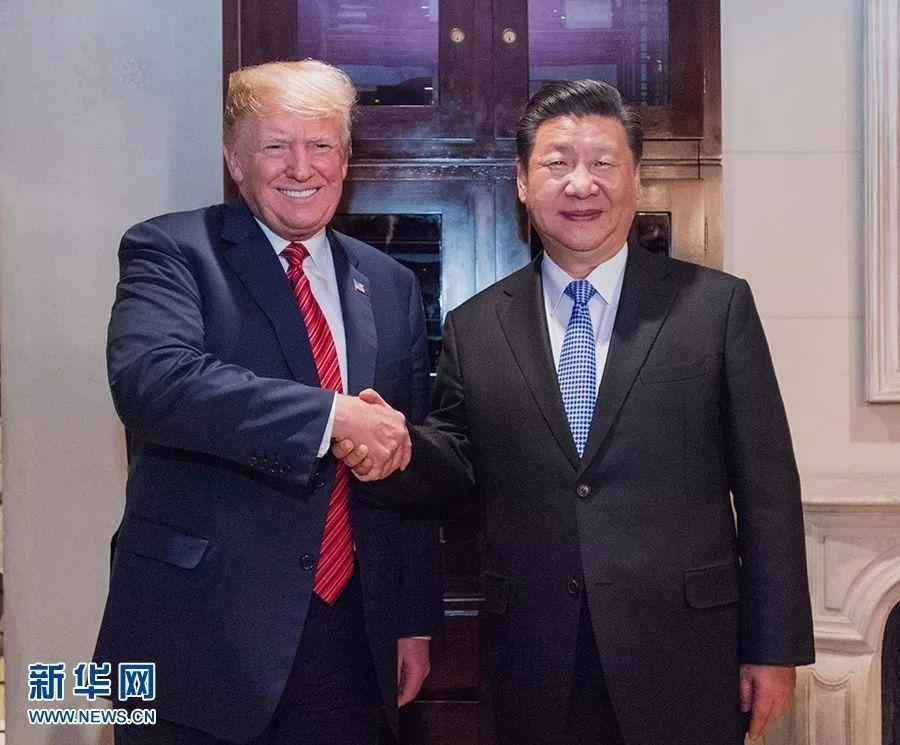 日前中國大陸國家主席習近平(圖右)與美國總統川普(圖左)於20國集團高峰會(G2...