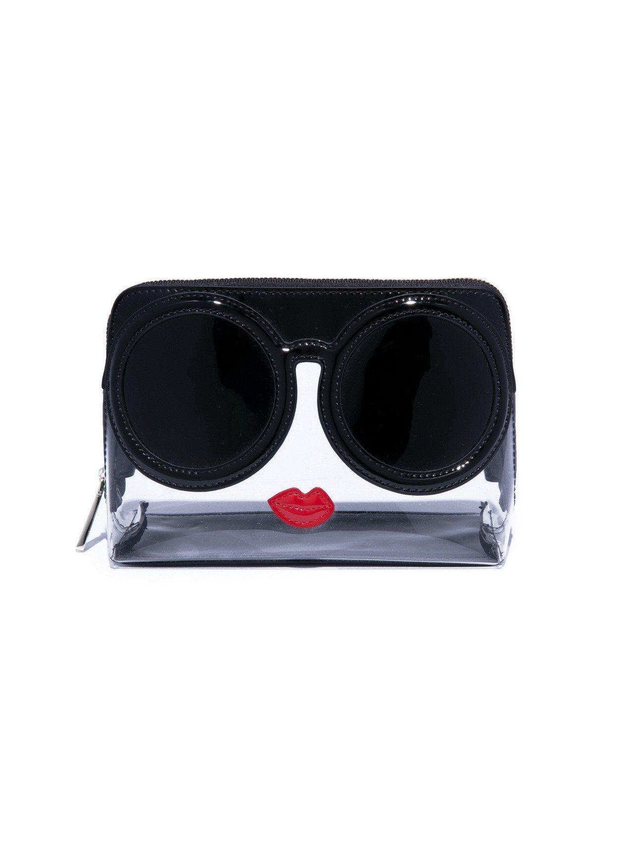 Stace Face透明化妝包(可當手拿包) ,5,200元。圖/Alice+O...