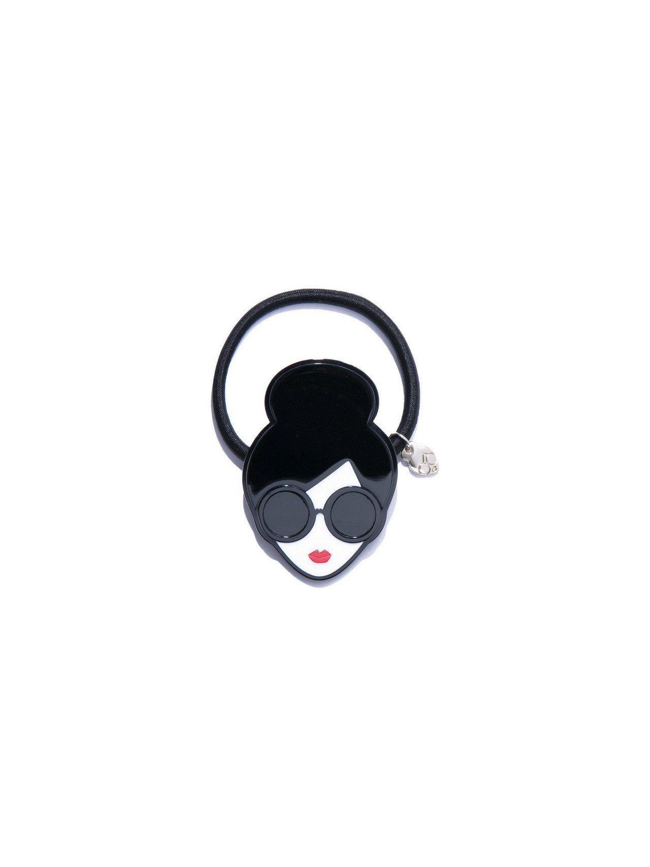 平面琺瑯Stace Face髮飾,1,700元。圖/Alice+Olivia提供