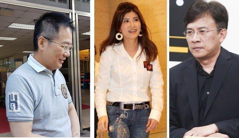 蔡正元(左)、彭文正(右)、李晶玉。本報資料照片