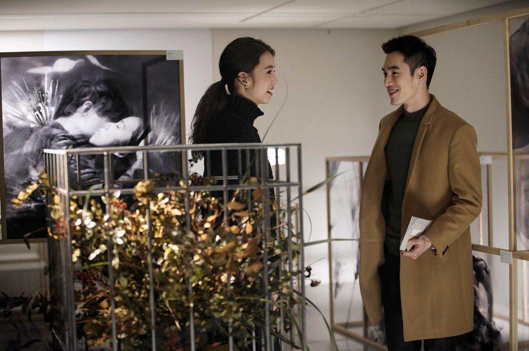 陳庭妮(左)和張書豪在片中飾演一對情侶。圖/傳影互動提供
