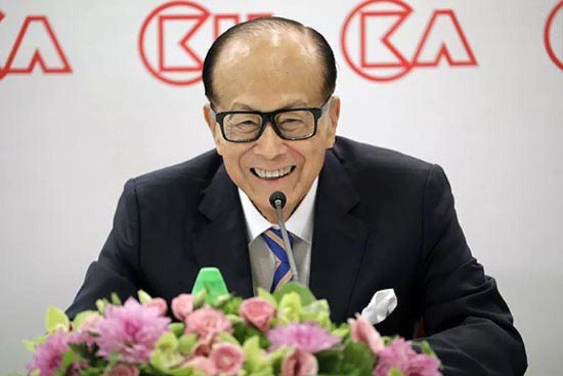 香港首富李嘉誠。網易新聞