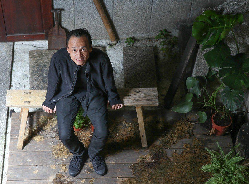 陳以文今年參演4部國片,其中「小美」現正熱影中。記者葉信菉/攝影