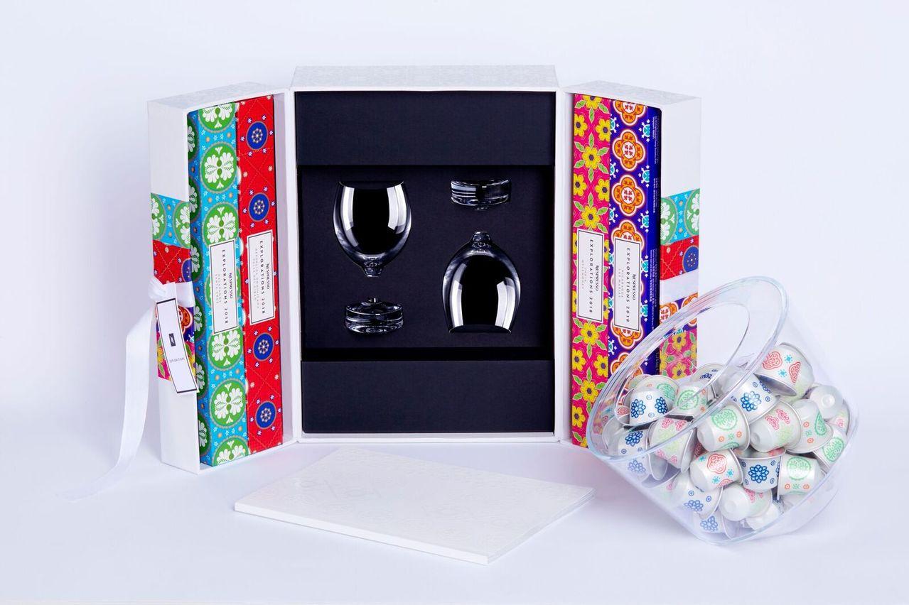 瑞士咖啡品牌NESPRESSO推出2018限量珍稀秘境咖啡典藏禮盒。(圖:NES...