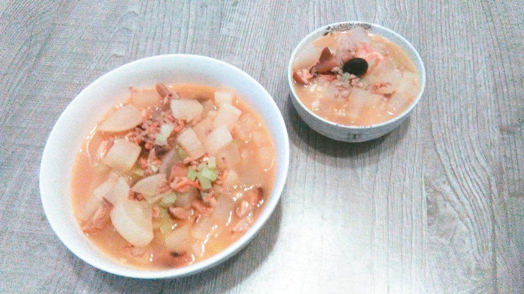菜頭粥。 圖/陳彥甫(基隆市)