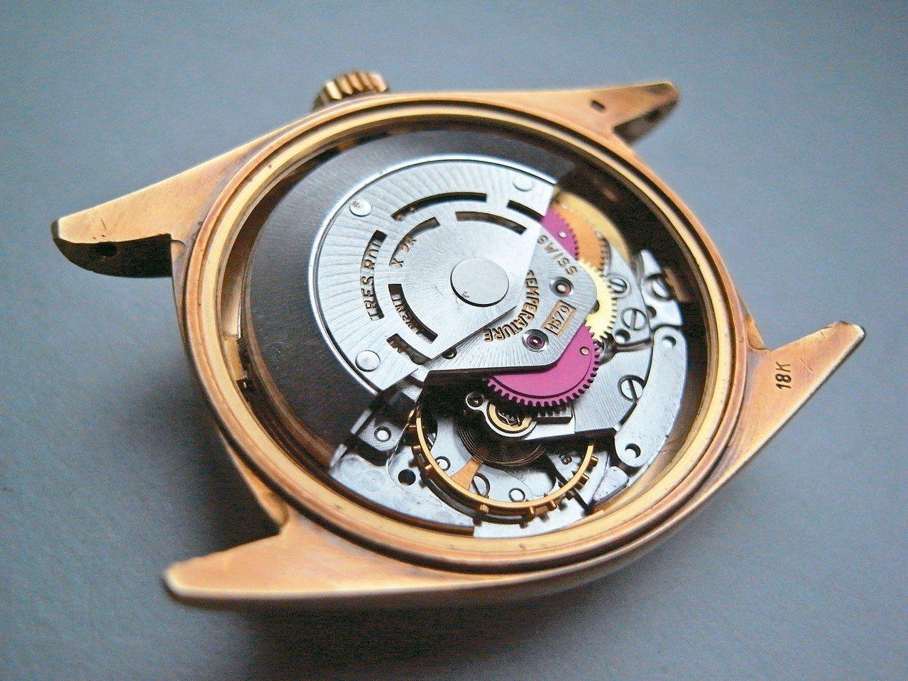 Rolex 1570被譽為全球三大最佳機芯。 圖/曾士昕提供