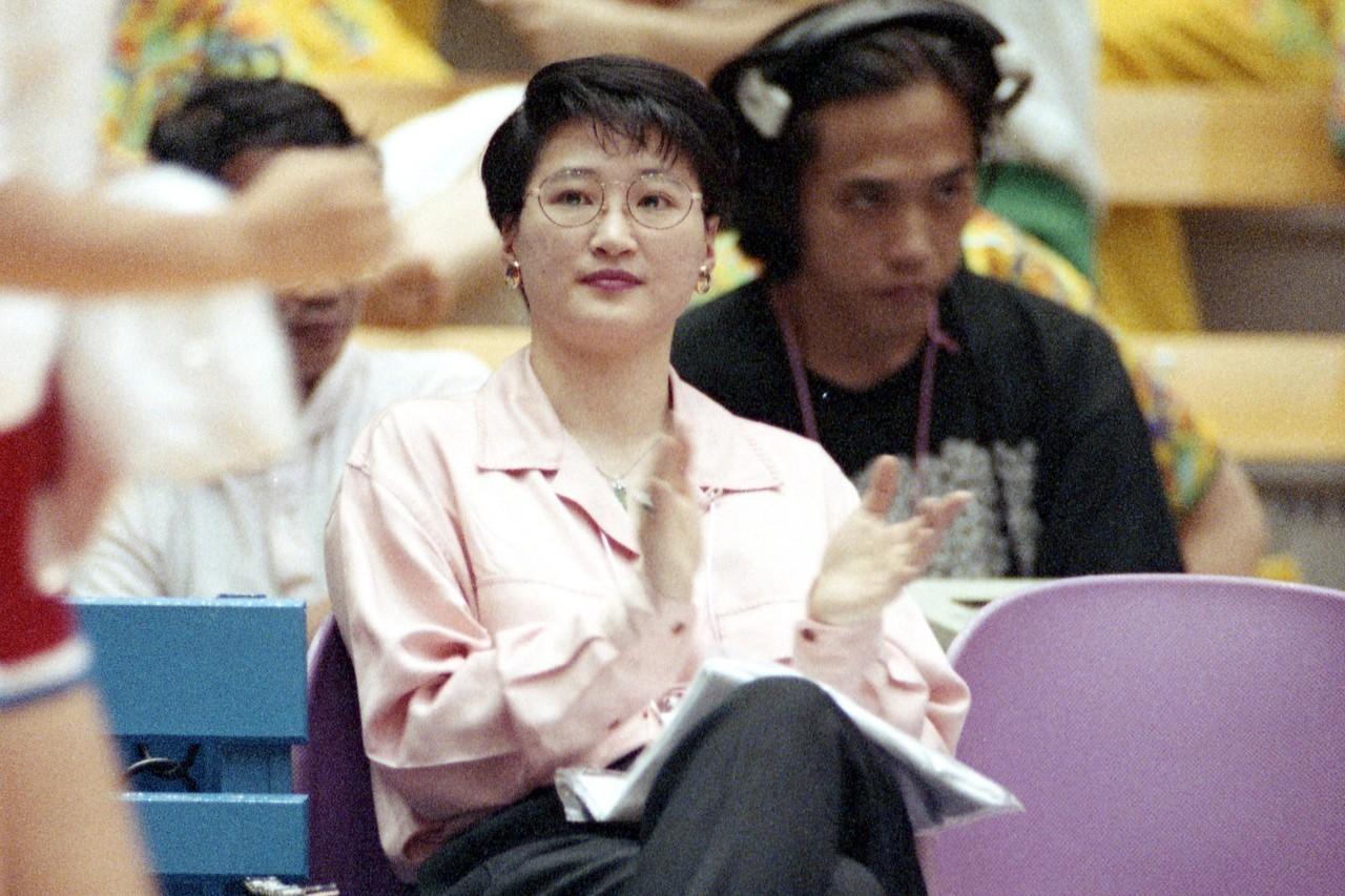 陳莉蓮婚後退役,近年擔任裕隆男籃、台元女籃領隊。 聯合報系資料照
