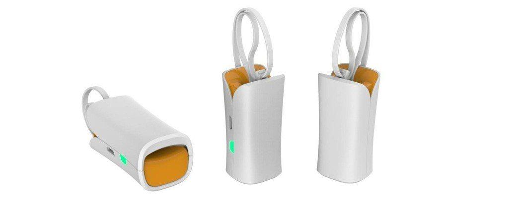 昌泰科醫研發的心血管AI量測儀,體積輕巧且操作簡單方便。 昌泰科醫/提供