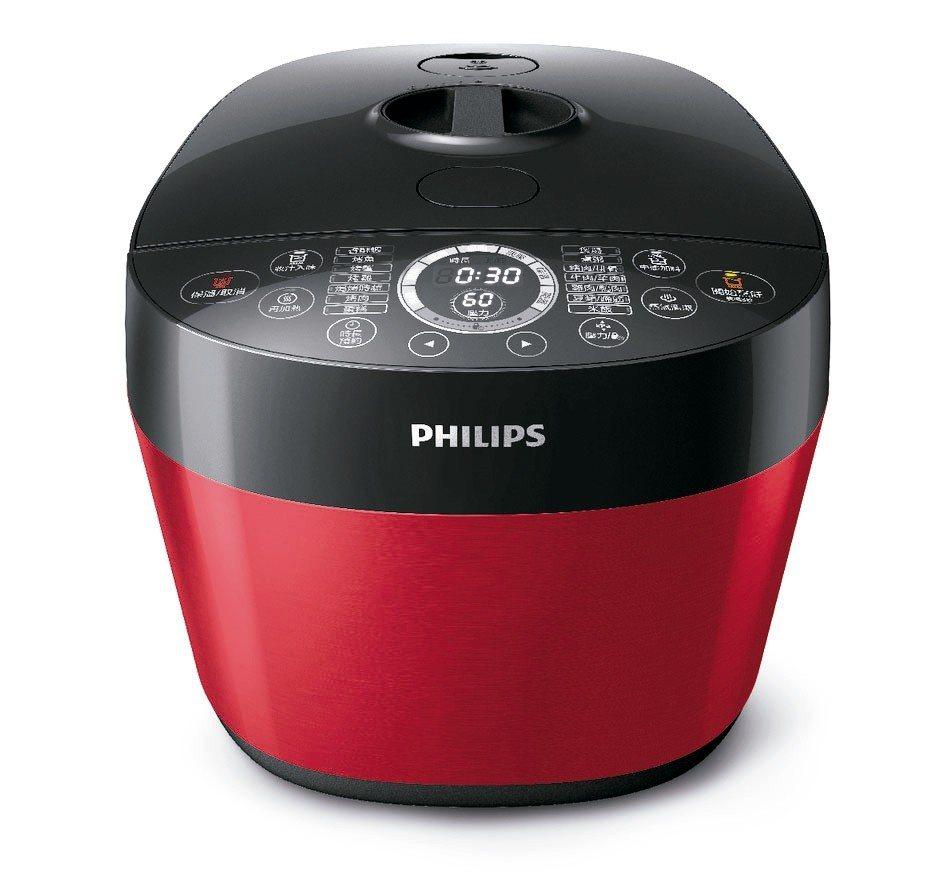 飛利浦新一代雙重溫控智慧萬用鍋HD2143。 燦坤/提供
