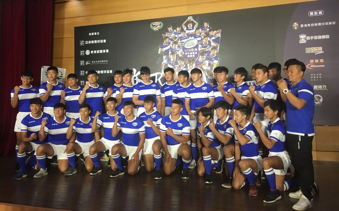 2018年U19亞洲青年橄欖球錦標賽12日起至18日將在台北田徑場開打,今年除地...