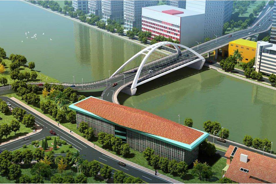 菲律賓政府官員表示,馬尼拉市的賓安杜-古王城友誼大橋將會持續動工,即使文化及古蹟...