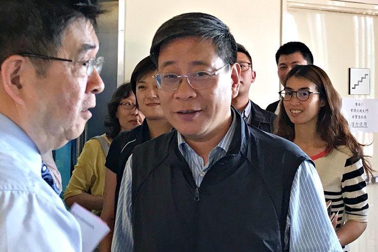 上海市台辦主任李文輝。 (中央社資料照片)