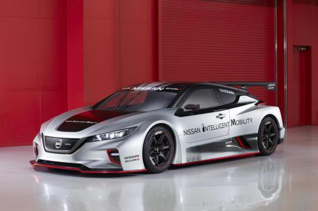 影/Nissan新一代電動賽車Leaf Nismo RC東京首度亮相