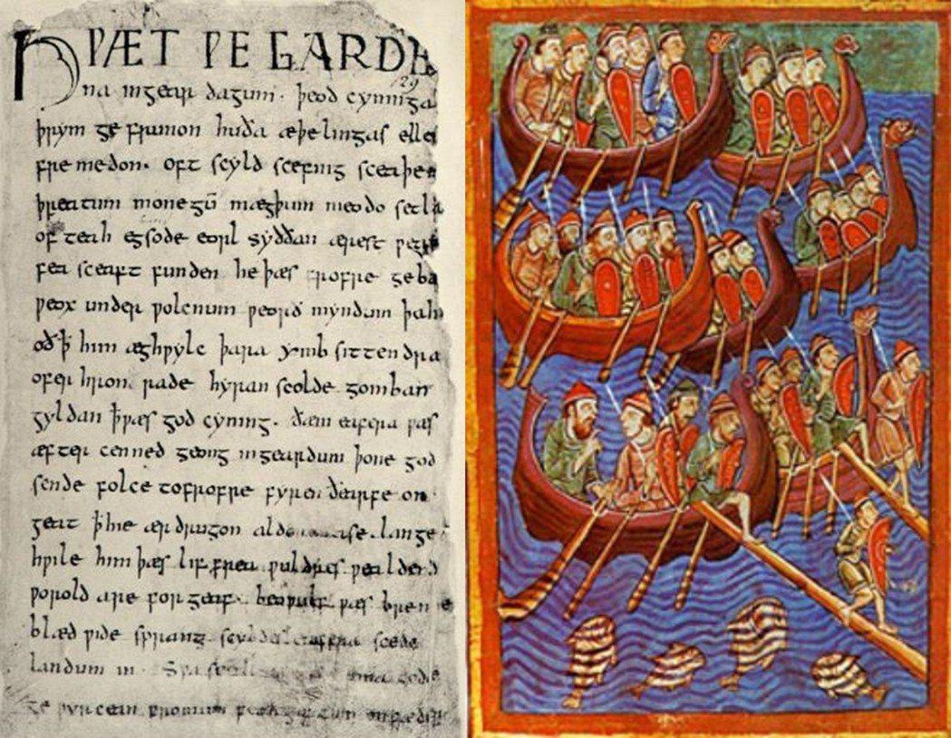 受到大量古諾斯語影響的古英語變體——盎格魯-斯堪地那維亞語——漸漸成為了自治鎮中...