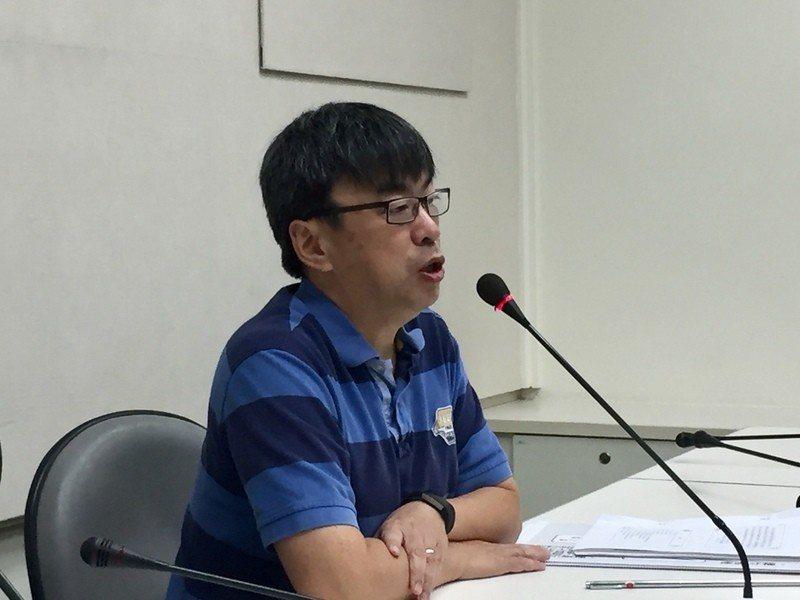 民進黨立委段宜康澄清,賴清德將在預算審議後辭職只是個人推斷。(photo by許...