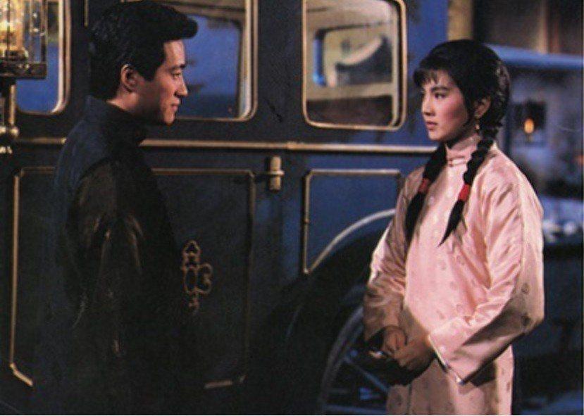彭雪芬與姜厚任在「大輪迴」第2世飾演一對無緣的戀人。圖/摘自HKMDB