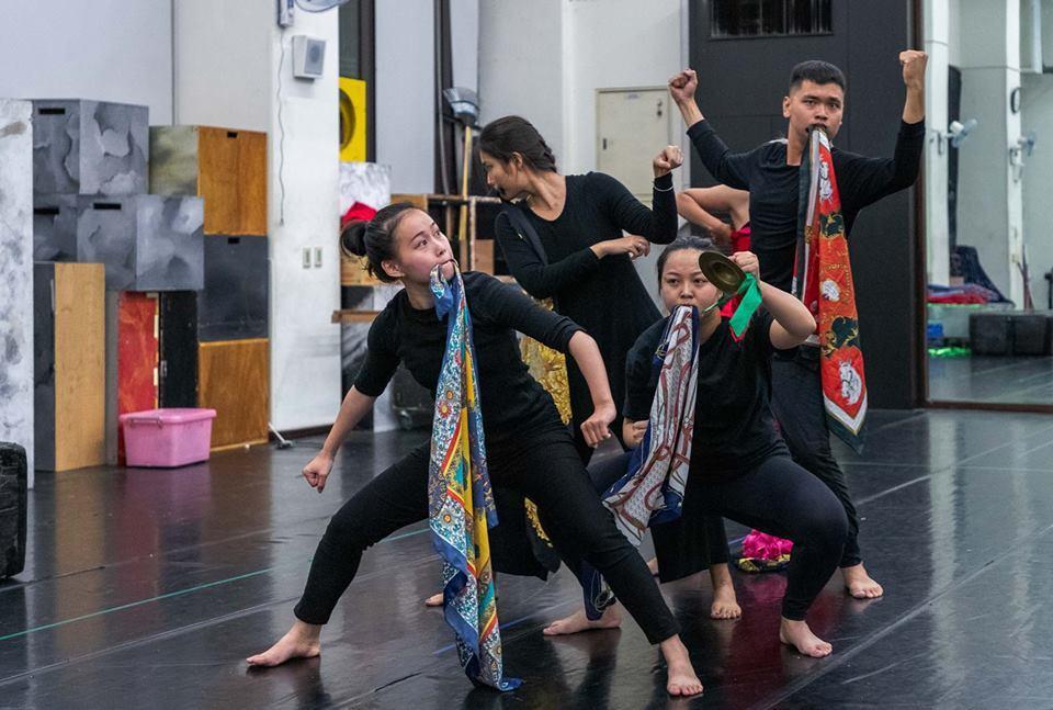 看嘸舞蹈劇場的「雞歸 Ke-kui」應邀前往印度演出,行前將於12/16在嘉義縣...