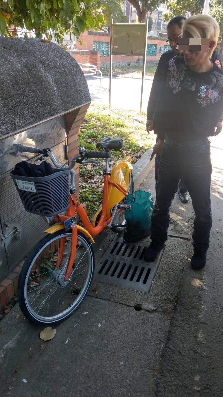 陳嫌偷竊Ubike當交通工具,騎到北大校園周邊行竊。記者林昭彰/翻攝