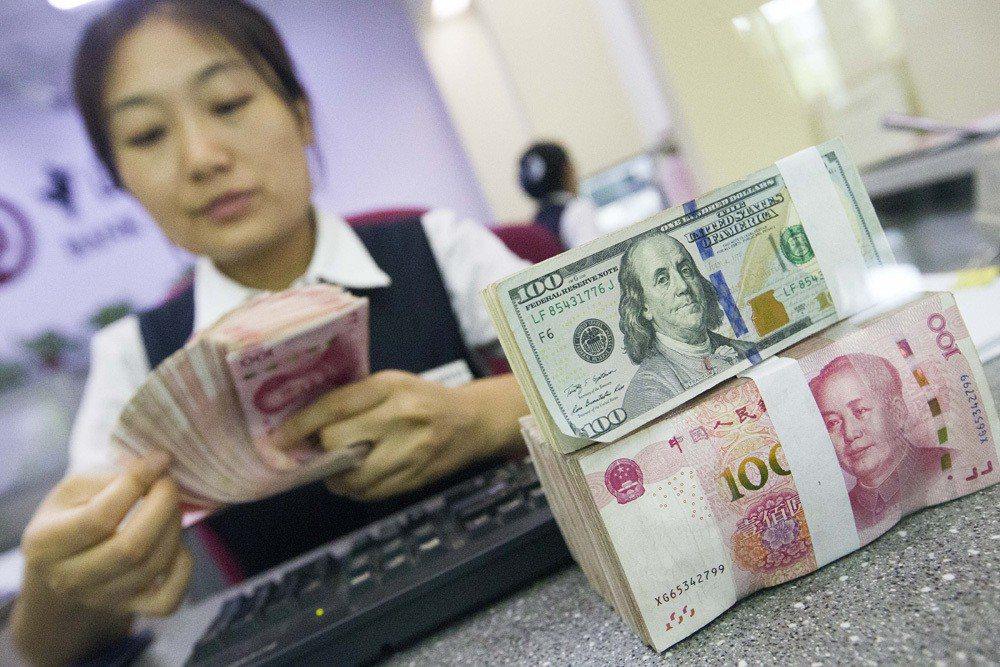 中美貿易休戰,人民幣連續第二天大漲。(香港大公網)