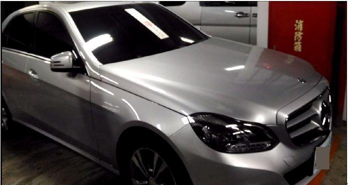 檢方查扣林女賓士轎車,經拍賣變價131萬元。記者邵心杰/翻攝